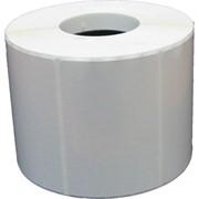 Этикетка прямоугольная полипропиленовая 80х100 фото