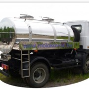 Автоцистерна (молоковоз) на базе шасси МАЗ-4570 модель 462470 (Г6-ОПА-4570) фото