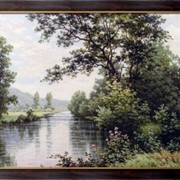 Картина Река, Хис, Рене Шарль Эдмонд фото