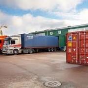 Отправка грузов в контейнерах фото