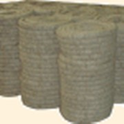 Шнур теплоизоляционный энергетический на основе ваты базальтовой в оплетке из стеклоровинга ШТЭ-150(200)Р фото