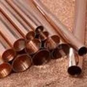 Медь (круг, лента, лист, проволока, отвод, труба, шина). фото