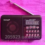 Компактная Колонка WS-229 USB, micro SD,FM радио фото