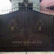 Ворота металлические гаражные в Кишиневе фото