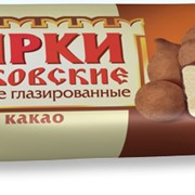 """Сырок творожный """"Московский"""" глазированный с какао фото"""