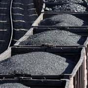 Уголь, Вагонные поставки угля. фото