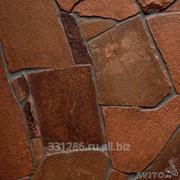 Песчаник красный 1,5 см. фото