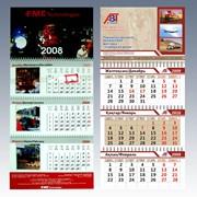 Календари настольные и настенные фото