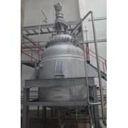 Реактор эмалированный, объем -10 куб.м., с рубашко фото