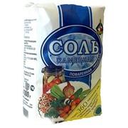 Соль каменная поваренная пищевая сорт 1, помол 2 фото