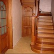 Лестницы из экологичного материала фото