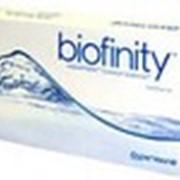 Biofinity UV 8.6 силикон-гидрогелиевые линзы фото