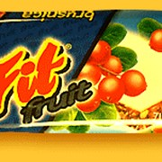 "Батончики ""Fit fruit брусника"" фото"