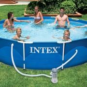 Каркасный бассейн Intex 28218 Metal Frame Pool (366х99) фото