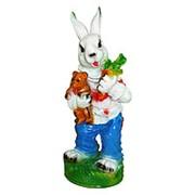 Фигура Зайчик с морковкой фото