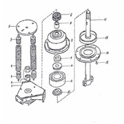 Детали головки шатуна А1-БЦС-100.02.220 вибросепаратора БЦС-50 фото