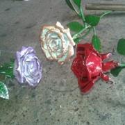 Роза кованная ручная работа фото
