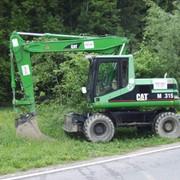 Аренда экскаватора Caterpillar M315 фото