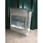 Бункерная кормушка для кроликов БК2 (с крышкой) фото