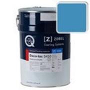 Краска для дерева акриловая ZOBEL Deco-tec 5450B RAL 5012 шелковисто-матовая, 1л фото