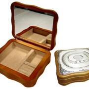 Шкатулки с серебрением фото
