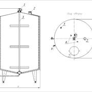Резервуары для хранения вертикальные ОМВ фото