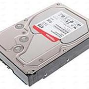 "Жесткий диск HDD Toshiba N300 SATA3 8Tb 3.5"" 7200 128Mb (HDWN180UZSVA) фото"