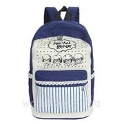 Городской рюкзак AWR8026-1 синий фото