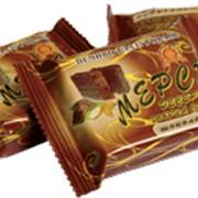 Печенье глазированное Мерси - десерт шоколадное Добрый смак фото