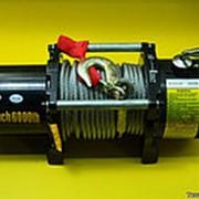 Лебедка автомобильная электрическая electric winch 3 тонны фото