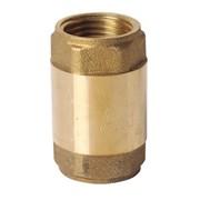 ЗКл006-25 Клапан обратный з лат.штоком ТОНКИЙ, 25(1),желтый/латунь 10*80 фото