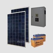Автономная солнечная энергосистема Санфорс 500 (уст.P=500Вт, ном.P=1000Вт, 100Ач) фото