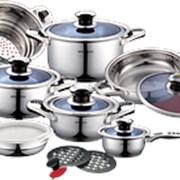 Наборы посуды ТМ SWISS&BOCH (8 ПРЕДМЕТОВ) фото