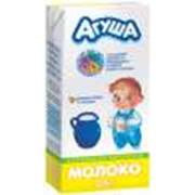 Молоко Агуша пастеризованное для детского питания фото