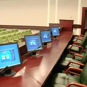 Оборудование для конференц-залов, пресс-центров. фото