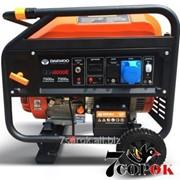 Бензиновый генератор Daewoo GDA 8000E фото