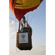 Полет на воздушном шаре над замками Львовщины, Карпатами фото