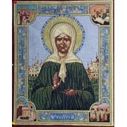 Гобеленовая икона Святая Матрона фото