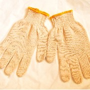 Перчатки трикотажные хлопчатобумажные фото