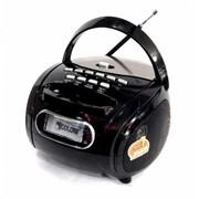 Бумбокс колонка MP3 USB радио Golon RX 186 Black par002647opt фото