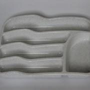 Вкладыш для столовых приборов (цв.мраморный) 770113 фото