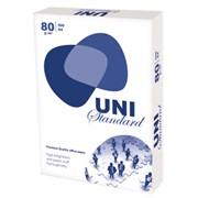 Бумага ксероксная А4,80г/м2 Uni Standard фото