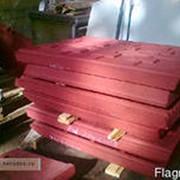 Плиты дробящие для дробилок смд 108-107-110-111 фото