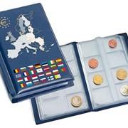 """Альбом """"NUMIS POCKET EURO"""", с листами. Производство Leuchtturm фото"""