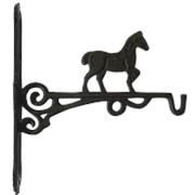 """Крючок декоративный """"Лошадь"""" 28х24х3,5см. арт.YM-BR-0627-S фото"""