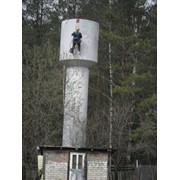 Покраска водонапорных башен фото
