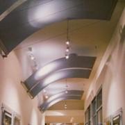 Дизайнерские подвесные потолки Armstrong, Canopy фото
