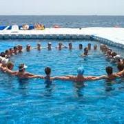 Мастер-класс по аква-аэробике фото