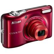 Цифровой фотоаппарат Nikon COOLPIX L28 (красный) Red фото