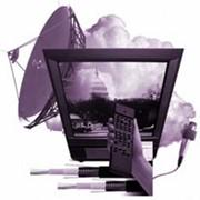 Монтаж систем спутникового, эфирного и кабельного телевидения фото